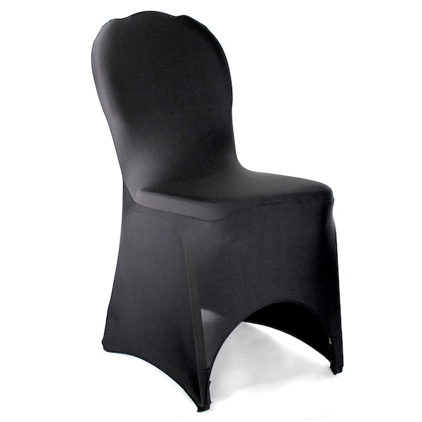 sc 1 st  Ipartypalace.com & Black Spandex/Stretch Chair Cover