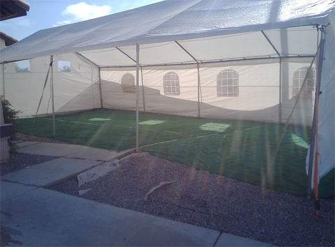 Tent 20 X 40 Ligth Duty
