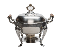 8Qt Round Chafing Dish