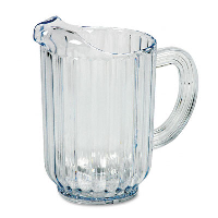 Plastic Pitcher 60z